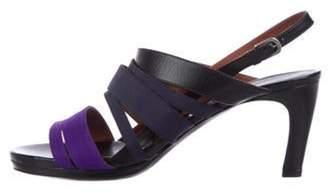 Dries Van Noten Mid-Heel Sandals Purple Mid-Heel Sandals
