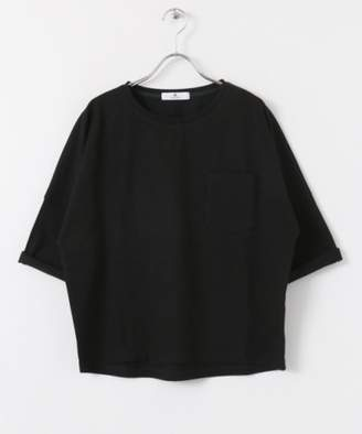 Sonny Label (ソニー ラベル) - Sonny Label 【WEB限定】ロールアップスリーブワイドTシャツ