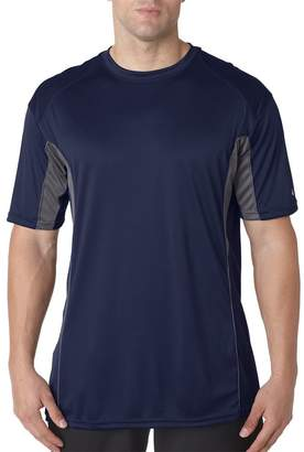Badger Adult Drive Performance Tee with Contrast Panels - L