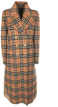 Burberry Checked Coat