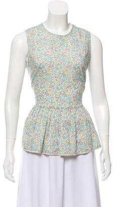 Chinti and Parker Floral Print Top