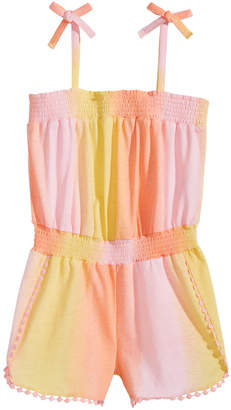 Epic Threads Little Girls Ombre Romper, Created for Macy's