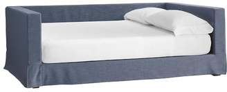 Pottery Barn Teen Jamie Daybed Frame + Daybed Slipcover, Full, Storm Blue Enzyme Washed Canvas, IDS