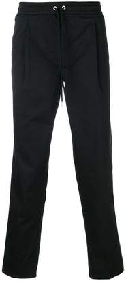 Moncler side striped track trousers