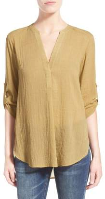 Lush Woven Tunic $44 thestylecure.com