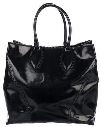 Alaia Patent Leather Tote