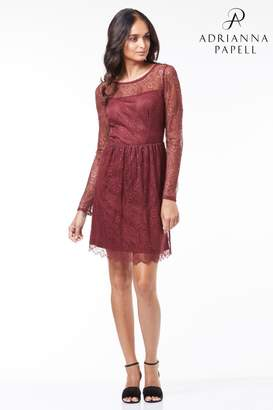 Next Womens Adrianna Papell Fit And Flare Dress