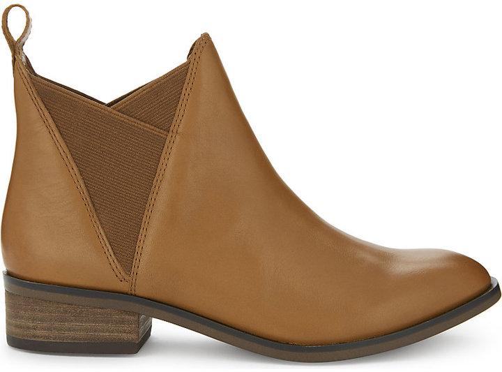 Aldo Scotch leather Chelsea boots