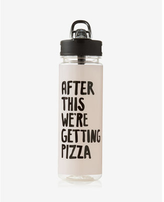 Express ban.do after this we're getting pizza water bottle $20 thestylecure.com