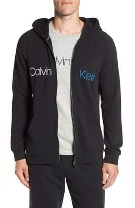 Calvin Klein Full Zip Logo Hoodie