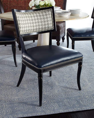 Saylor Massoud Houndstooth Side Chair