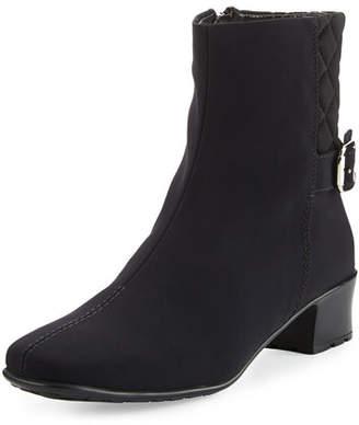 Sesto Meucci Yannik Weatherproof Quilted Ankle Boots, Black