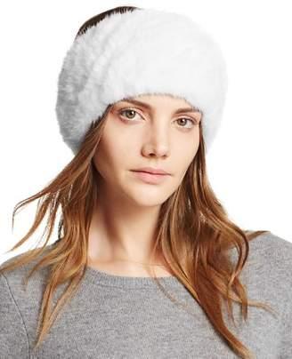 Maximilian Furs Knit Mink Fur Headband - 100% Exclusive