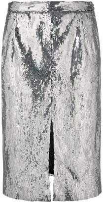 Blugirl sequin pencil skirt