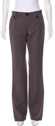 Marc by Marc Jacobs Mid-Rise Striped Pants