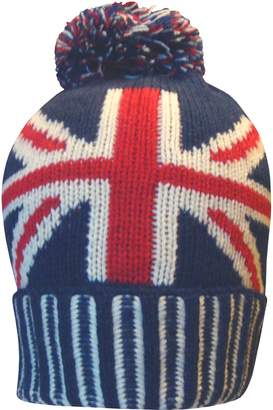 12af163230c Teddyt s Men s Great Britain Union Jack Thermal Knitted Winter Beanie  Bobble Hat