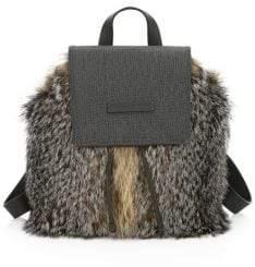 Brunello Cucinelli Fox Fur Backpack