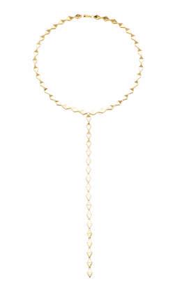 Chloé Melissa Kaye 18K Gold Lariat Necklace