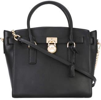 MICHAEL Michael Kors Hamilton Leather Shoulder Bag