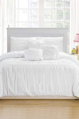 Kensie Emilia Duvet Set - White