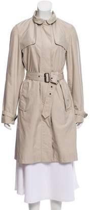 Burberry Zip-Up Trench Coat