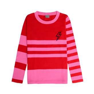 Orwell + Austen Cashmere - Baby Bowie Stripe Pink & Red