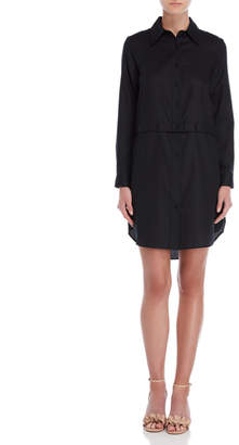 Milly Fractured Shirt Dress
