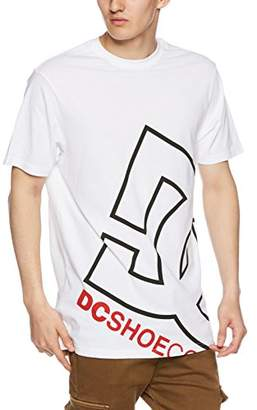 DC (ディーシー) - [ディーシーシュー] 18 SU BIG LOGO SS メンズ ホワイト1 日本 L (日本サイズL相当)