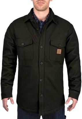 Dickies Men's Heavy Weight Bonded Jacket Shirt
