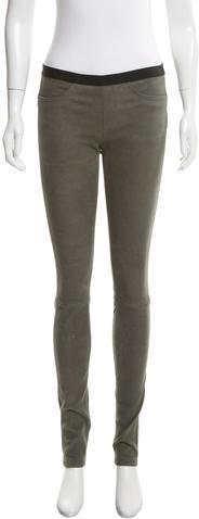 Helmut LangHelmut Lang Textured Leather Leggings