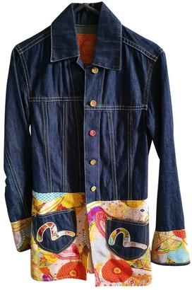 Evisu Multicolour Denim - Jeans Jacket for Women