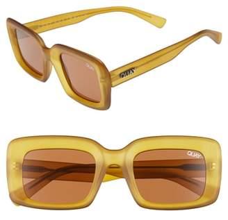 Quay Going Solo 48mm Square Sunglasses