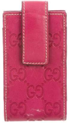 Gucci Guccissima Phone Holder