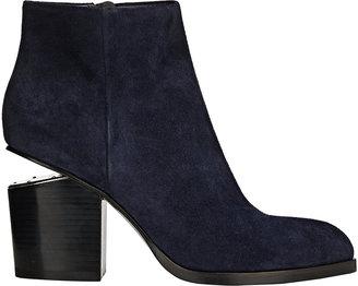 Alexander Wang Women's Gabi Boots-NAVY $650 thestylecure.com