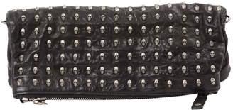 Thomas Wylde Black Leather Clutch Bag