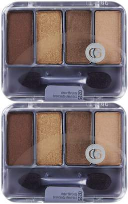 Cover Girl Queen Collection Eye Shadow Quads - Desert Bronze - 2 pk by