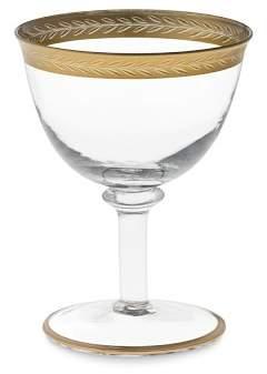 Williams-Sonoma Williams Sonoma Gold Rim Coupe Glasses, Set of 4
