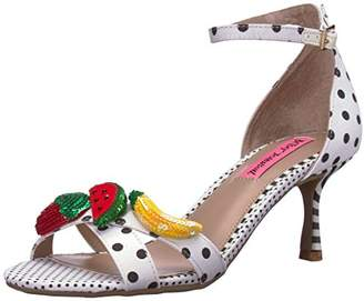 Betsey Johnson Women's Jordan Heeled Sandal