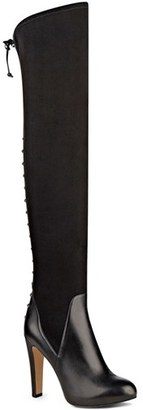 Women's Nine West 'Brennan' Over The Knee Boot $229.95 thestylecure.com