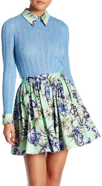 alice + olivia Nadie Slim Sweater Shirt