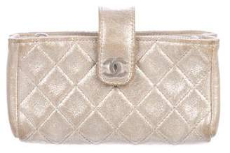 Chanel CC O-Mini Clutch
