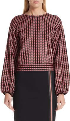 Emporio Armani Chevron Stripe Sweater