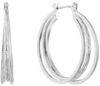 Gloria Vanderbilt 34.3mm Hoop Earrings
