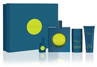 Perry Ellis Four-Piece Citron Set- 105.00 Value $70 thestylecure.com