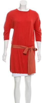 Lanvin Belted Knit Tunic