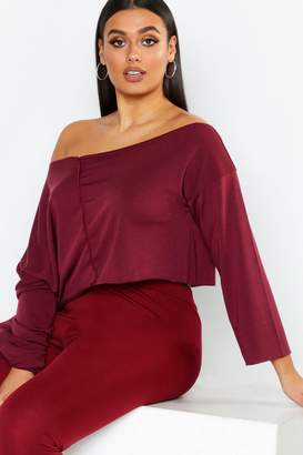 boohoo Off Shoulder Sweater