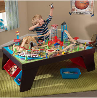Kid Kraft Aerocity Train Set & Table