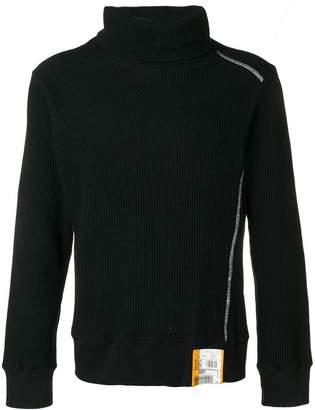 Puma Maison Yasuhiro textured knit roll neck sweater