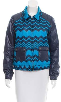 Missoni Printed Down Jacket