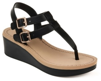 Journee Collection Bianca Wedge Sandal